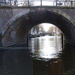 Bridges along the canals