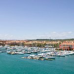 View of Hotel and Port of Sotogrande