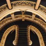Staircase Perspective at Hotel Avenida Palace