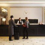Renovated Lobby at Hotel Avenida Palace