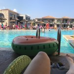 Holiday Village Rhodes August 2017 deluxe swim up room