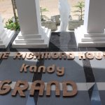 """The Richmond """"Grand, opening soon."""
