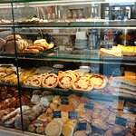 Lots of pastries and sweets