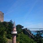 Fortress, Minaret and Fatih Sultan Mehmet Bridge