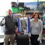 National Football Museum Premier League Trophy photo op