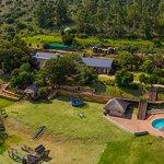 A Birds Eye View of Lionsrock Lodge...