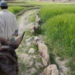 Lalibela Cross Ethiopia Eco Trekking and Tours taking us to the Lalibela farms