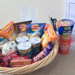 Honesty basket, fridge and bottled water