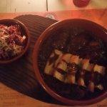 Moorea Beach Cafe Pork Belly and Pork Medallions