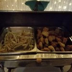Fire Show Night Buffet - french fries & chicken nuggets