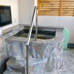 Outdoor bath, room 602