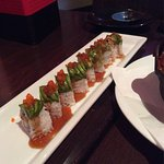 Get the Spicy Shrimp Soup and Caterpillar Roll