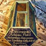 Der Schulterknochen der Lüneburger Salzsau ist im Rathaus zu bewundern