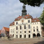 Lüneburger Rathaus - Die barocke Fassade