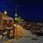 Beach Dinning at night