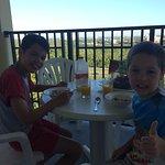 Breakfast on the Balcony