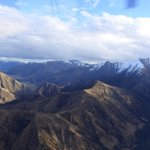 View from the Remarkables flight