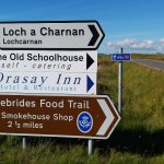 located only a mile or so off the Hebridean Cycle route...