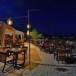 Dinning on the beach