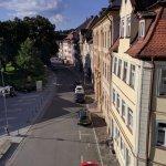 Rooms with higher, odd, numbers overlook Schillerplatz