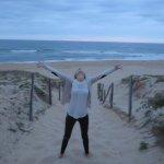 La plage de sable fin ...Magnifique !