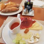 Complimentary Andalusian style breakfast