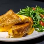 Voted one of the best grilled cheese sandwiches in Chicago!