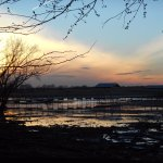 Enjoy sunsets at the marsh boardwalk. Photo by Heather Sharp.