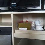 Fridge/tea facilities