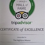 We truly thank our amazing guests for helping us earn this treasured award