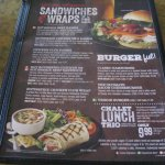 Lots of affordable choices at this Swiss Chalet in Brampton, Ontario.