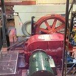 Engine room of tram