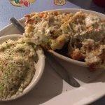 Seafood potato skins (Thursday)