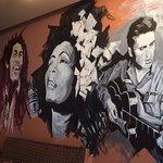 Bob Marley, Elvis Presley and Greek Food!