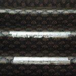tape over worn stair carpet