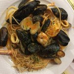 Seafood Pasta. Great Meal   Great price