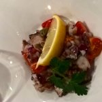 Soft gorgeous octopus salad