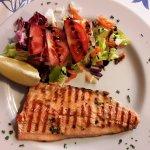 Grilled trout fillet