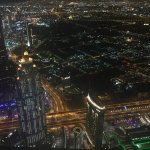 Dubai view from 124-125 floor of Burj Khalifa : Amazing experience and feeling.