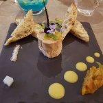 roulé de foie gras