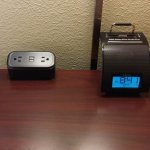 USB Outlets and Alarm Clock