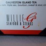 Willie G's Galveston restaurant