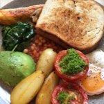 Amazing veggie breakfast