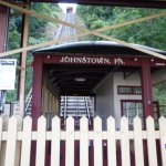 The Johnstown Inclined Plane Looking up from the bottom of the hill.