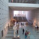Inside Acropolis museum