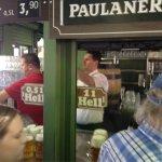 Biergarten Viktualienmarkt Foto