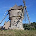 Sous le regard du joli moulin guérandais.