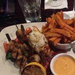 Seafood platter:)