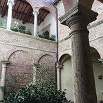 Entryway courtyard