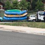 Actividad de rafting realizada con Altisport